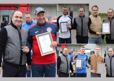 Награждение победителей и призеров Регионального этапа конкурса «Россия – футбольная страна!»